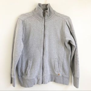 Carhartt | Women's Gray Zip Up Sweatshirt
